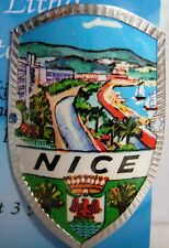 France Nice new badge mount stocknagel hiking medallion G9735