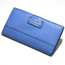 Kate Spade Bay Street Stacy Alice Blue Bifold Wallet WLRU2642 NWT
