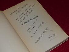 FRANCOIS NOURISSIER / LE MAITRE DE MAISON EO ENVOI SIGNE Grasset 1968 Stoleru