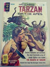 TARZAN OF THE APES 157 G/VG GOLD KEY 1966 PA2-286