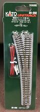 N Scale - KATO UNITRACK 20-202 Electric Turnout #6 Left R718-15   NEW in Package