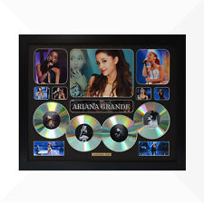 Ariana Grande Signed & Framed Memorabilia - 4 CD - Black - Limited Edition