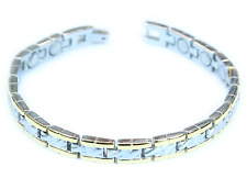 Titanium Magnetic Bracelet Therapy Stainless Steel with Link Remover