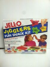 Vintage 1991 Complete Jell-O Jigglers Fun Snack Deluxe Kit