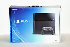 Sony PS4 500GB Game Console System - Jet Black - Rare - Brand New