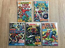 Dc Comics Jack Kirby's New Gods Lot #'s 2, 3, 5, 10, & 11