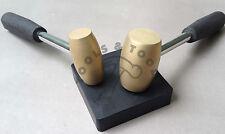 1 e 2 LB Martello in Ottone con Gomma Bench blocco attaccando timbratura gioielli Dapping