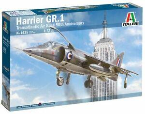 Plastic Kit Italeri 1/72 Scale Hawker-Siddeley Harrier GR.1 1435