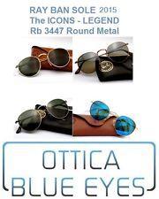Occhiali da Sole RAYBAN ROUND METAL RB 3447 Ray Ban ALL COLORS SUNGLASSES gafas