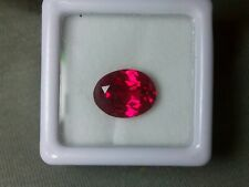 Beautiful Red Ruby - 4,20 cts - Oval Cut