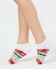 """NWT Charter Club /""""Candy Cane/"""" Novelty Holiday Socks Green"""