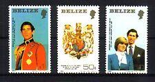 Belize Michelnummer 554 - 556  A postfrisch (Royal Wedding 73)