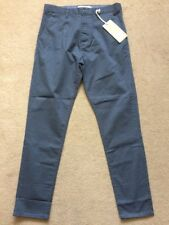 """NEXT Men's Tapered Stretched Chinos Trousers, Grey, Tall, W32"""", L33"""""""