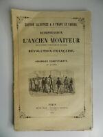 Plön Henri Ristampa Di ANTICO Monitor 27e Quaderno Rivoluzione Juillet 1790