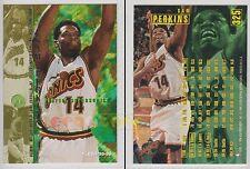 NBA FLEER 1995-1996 SERIES 2 - Sam Perkins, Sonics # 325 - Mint