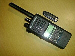 Motorola DP4600 UHF 403-527MHz DMR Digital c/w battery, antenna & clip #4