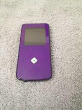 Purple Ematic 4GB MP3 Video Player FM Tuner Ebooks Voice Recorder Bundle