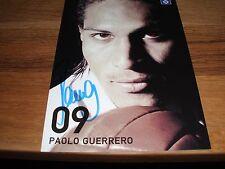 Autogrammkarte P. Guerrero, Hamburger SV, HSV,  WM, FC Bayern München, Ultras, A