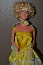 Vintage Barbie - 1979 Pretty Changes Barbie in Original Yellow Jumpsuit, Wrap