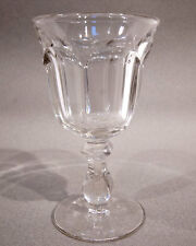 Old Williamsburg 6-3/8 Inch Tall Clear Water Goblet by Imperial