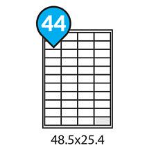 A4 Address Labels Self Adhesive White Sheets Sticker Paper Laser Printer Inkjet