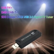 USB FM+DAB+DVB-T+SDR Dongle STICK USB 2.0 Digital TV Tuner Radio Receiver~