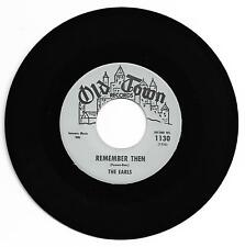 DOO WOP 45 THE EARLS REMEMBER THEN ON OLD TOWN VG+ 1ST PRESS