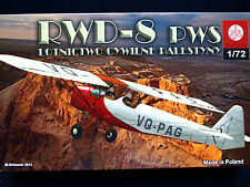 RWD-8 PWS  PALESTINIAN CIVIL AVIATION, ZTS PLASTYK, SCALE 1/72