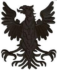 Patch dorsal écusson thermocollant patche Aigle medieval armoirie blason