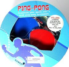 Extreme Games Mini Ping Pong - Includes Paddles,Ball, Net, Play book