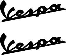 2 x VESPA Logo Viele Farben Größe 14 cm x 5 cm ANSEHEN