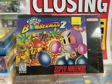 Super Bomberman 2 Nintendo SNES - NEW SEALED - COLLECTION GAME - FREE SHIPPING -