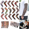 Tattoo Pattern Cooling Arm Sleeves Cover UV Sun Protection Basketball Golf Sport