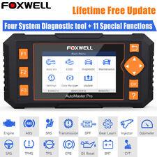 FOXWELL Auto Car OBD2 Diagnostic Scanner Tool Code Reader SAS TPMS DPF Oil Reset