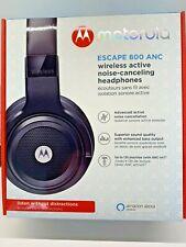 Motorola Escape 800 ANC Wireless Active Noise Cancelling Headphones Black NEW