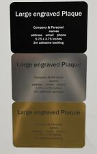 Large Engraved nameplate fit Pelican ™ 1690 1500 1520 1550 1610 1650 1660 case