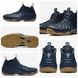 "NIKE AIR FOAMPOSITE ONE 314996-405 ""MIDNIGHT NAVY"" Men's Sneaker NEW & SHIPS NOW"
