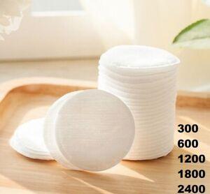 Cotton Pads Round 100% Cotton UK Soft Make Up Nail Polish Remover 600 1200 1800