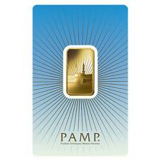10 gram PAMP Suisse Gold Bar - Ka ´Bah, Mecca (in Assay) .9999 Fine