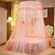 Princess Round Dome Mosquito Lace Canopy Hung Bed Insect Nets Curtain Chic Fairy