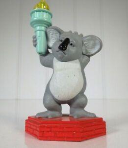 Disney McDonalds 2006 The Wild Koala Nigel Figure Toy Rare - AUSTRALIA