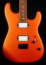 New! Charvel PM SD1 Pro Mod San Dimas HH Guitar Hard Tail - Satin Orange Blaze