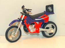 "2001 Dirtbike Dirt Bike Action Figure Motorcycle 5.25"" Spin Master Metal & PVC"
