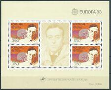 1983 EUROPA PORTOGALLO FOGLIETTO MNH ** - EV