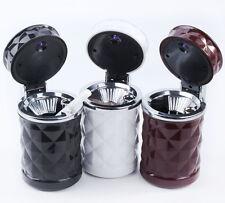 Portable In Car Auto Travel LED Light Cigarette Ashtray Ash Tray Holder Cup ATAU