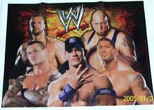 """NEW ~WWE WRESTLING~ 1-PLASTIC TABLE COVER  78 1/2"""" X 59"""" QUELA  PARTY SUPPLIES"""