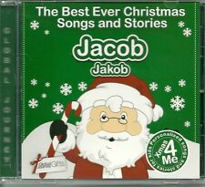 JACOB / JAKOB - THE BEST EVER CHRISTMAS SONGS & STORIES PERSONALISED CD