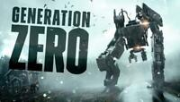 Generation Zero (PC) Steam Key Region Free