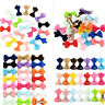 20Pcs Hair Bows Band Boutique Alligator Clip Grosgrain Ribbon Girl Baby Kids SM