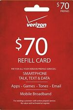 VERIZON $70 refill(email delivery)